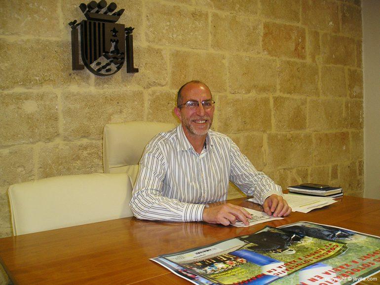 Vicent Colomer concejal de deportes de Xàbia
