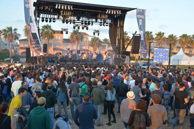 Ambiente en el Montgorock Festival