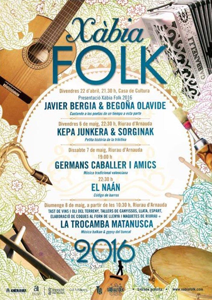 Cartel Festival Xàbia Folk
