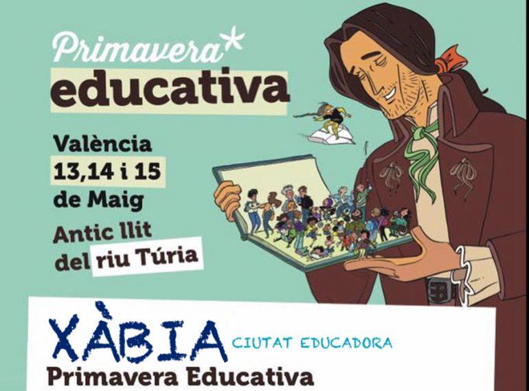 Cartel Primavera Educativa Xàbia