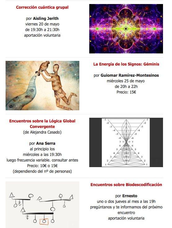 Cursos Mayo Centro de Terapias Mezquida