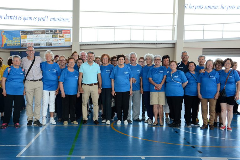 Delegación de Xàbia en las Olimpiadas para mayores