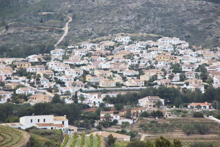 Edificaciones en El Poble Nou de Benitatxell