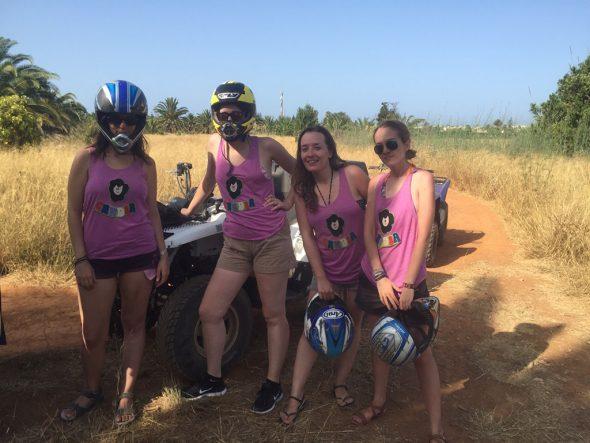 Excursiones en quad Fun&Quads