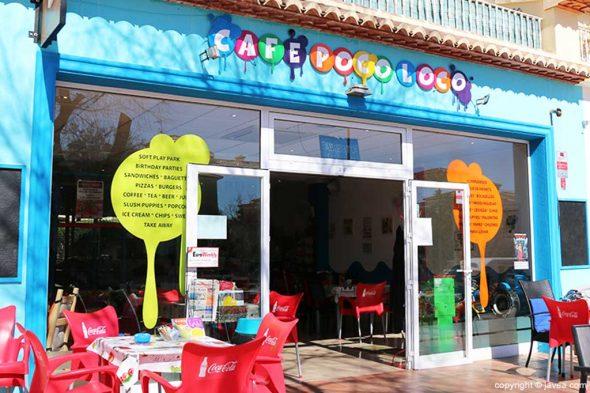Imagen: Fachada Café Poco Loco