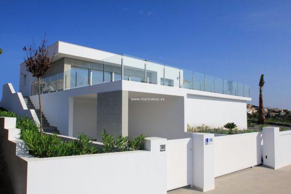 Fachada Chalet benitachell MarinaBay Homes