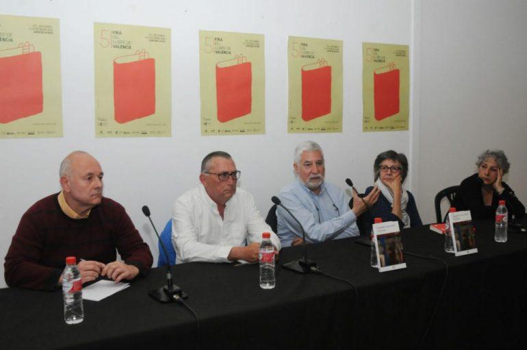 Josep Bertomeu en la Feria del Libro de Valencia