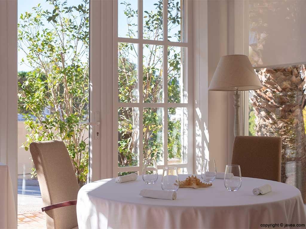 Mesas Restaurante El Rodat