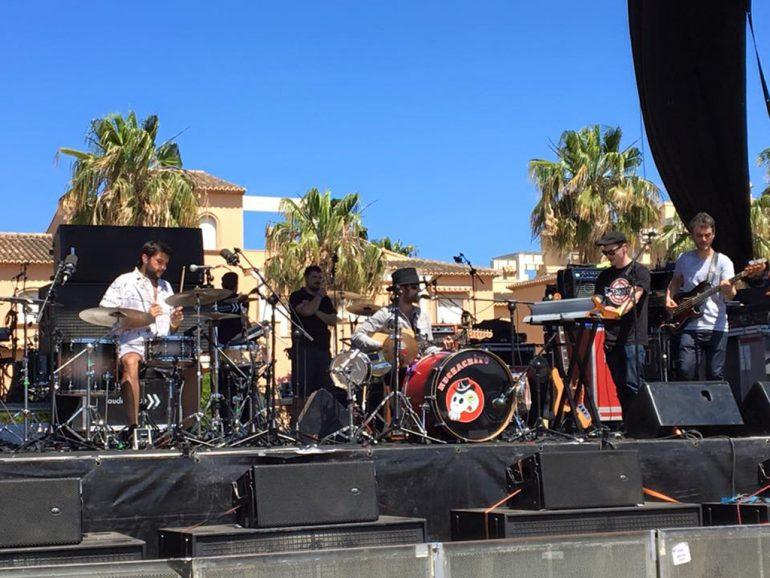 Muchachito en el Montgorock Xàbia Festival