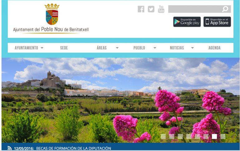 Nueva pagina web de Benitatxell