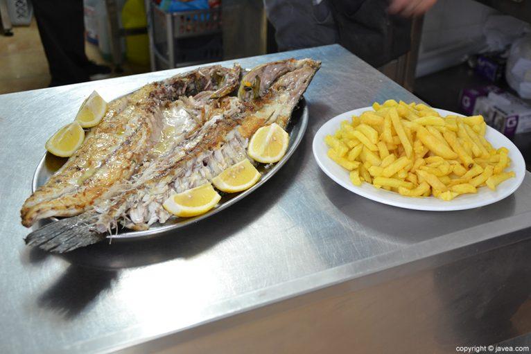 Peix La Cantina de Xàbia