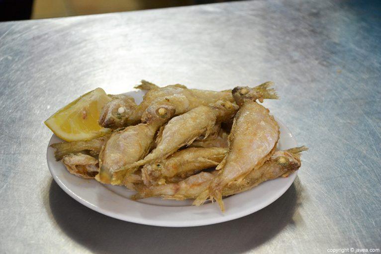 Pescaito fregit La Cantina de Xàbia