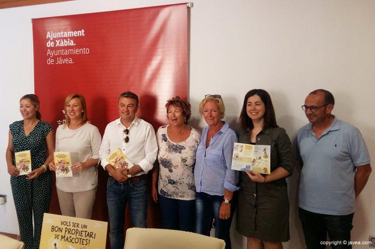 Puesta en marcha de la Campaña Mascotas en Xàbia