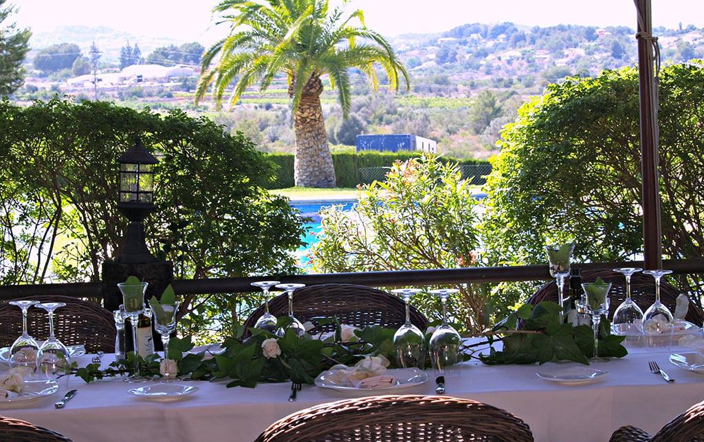 Restaurante vistas Vall de Cavall