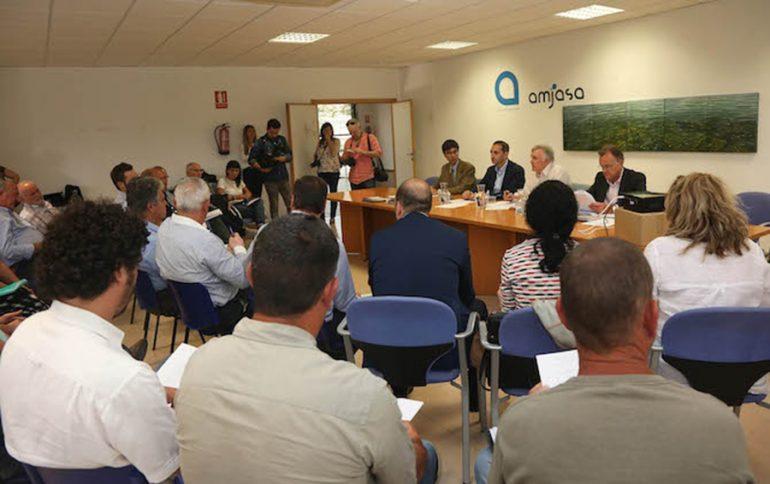 Reunión del Consorcio de Agua de la Marina Alta