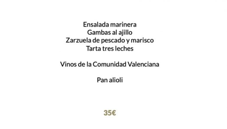 La Cantina de Jávea verloot een maaltijd voor twee personen