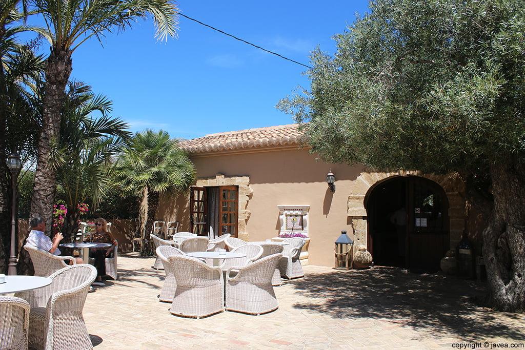 Terraza entrada Restaurante Masena