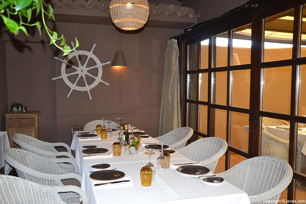 Terraza Interior Restaurante Masena