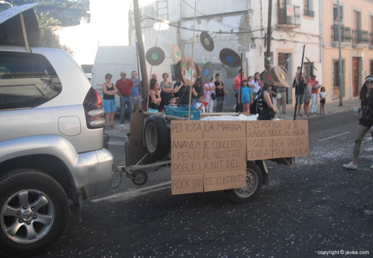 Apoyo al Montgorock Xàbia