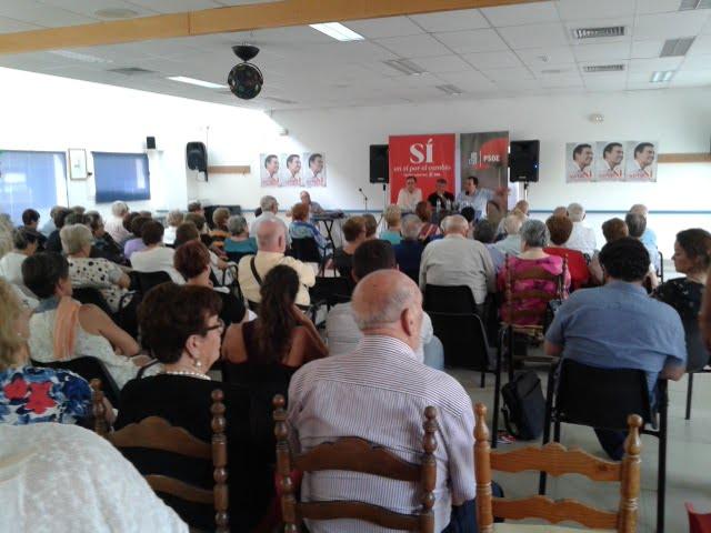 Asamblea abierta PSOE en Xàbia