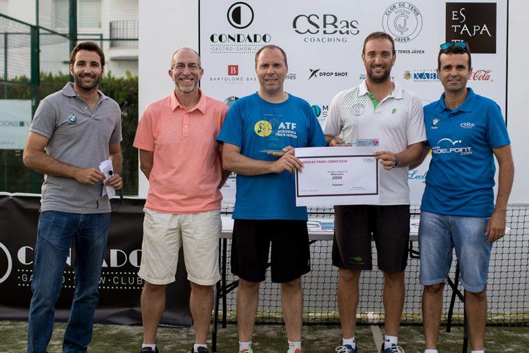 Campeones de Primera Categoría Torneo Pádel Xàbia
