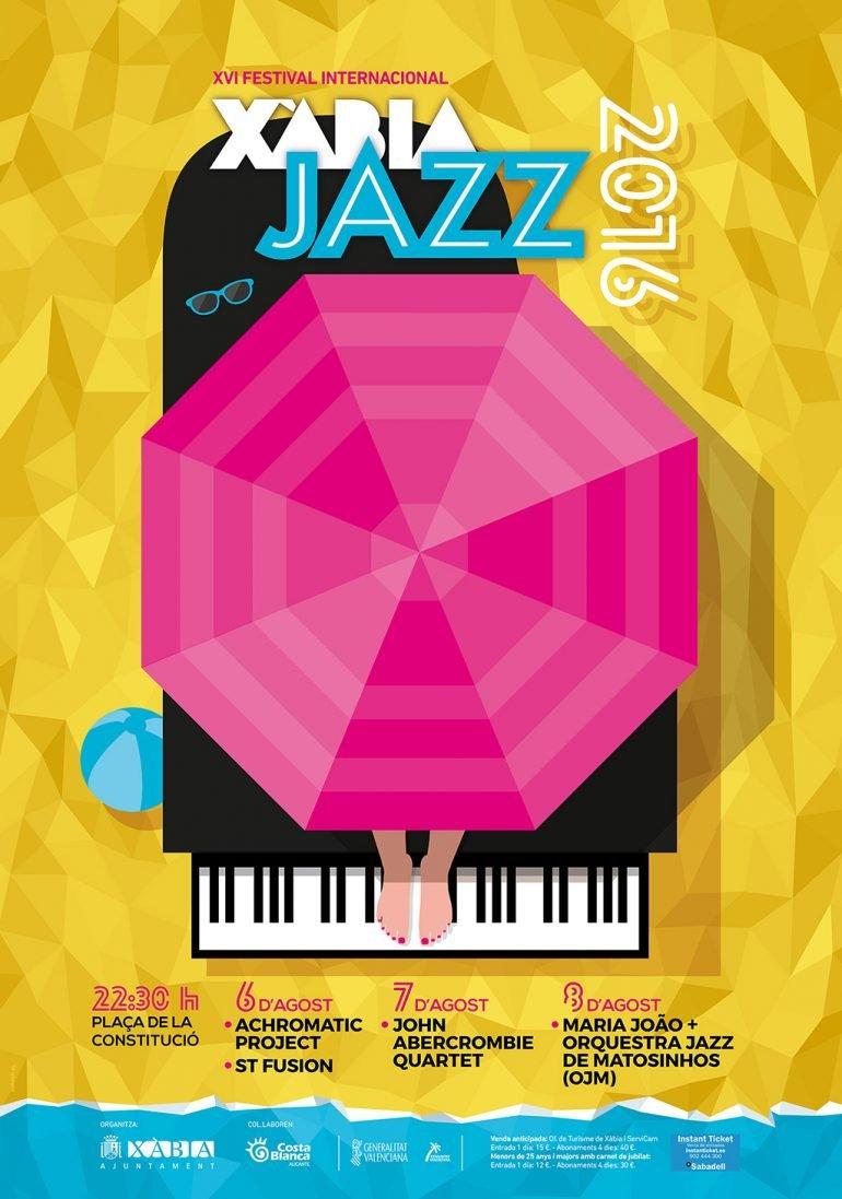 Cartel del XVI Xàbia Jazz