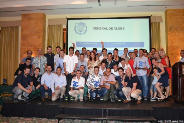 Clasificación de clubs