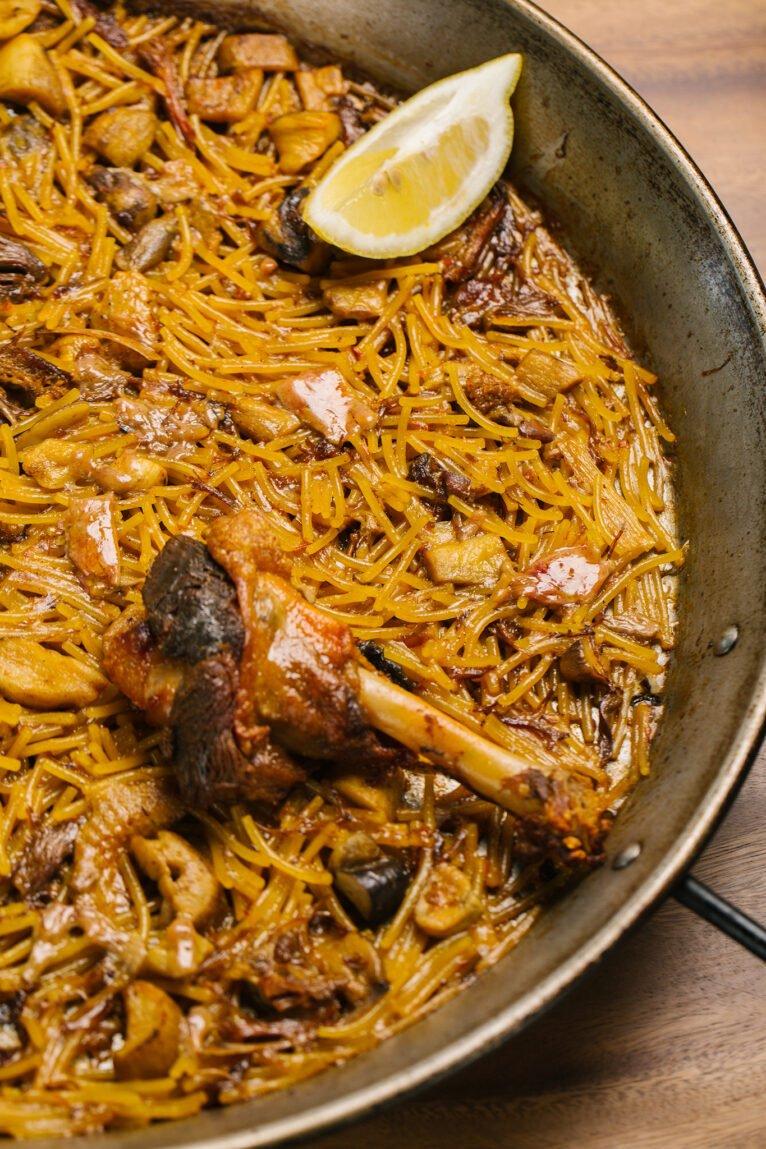 Comer paella en Jávea - Cala Bandida