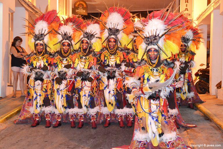 Filà Capitania Xibia desfile de Gala 2015