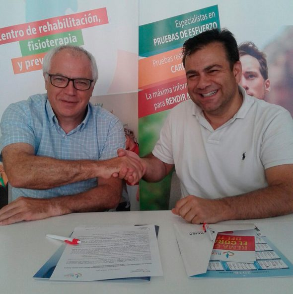 Firma convenio con REMA, El Club Atletismo Baleària Diànium