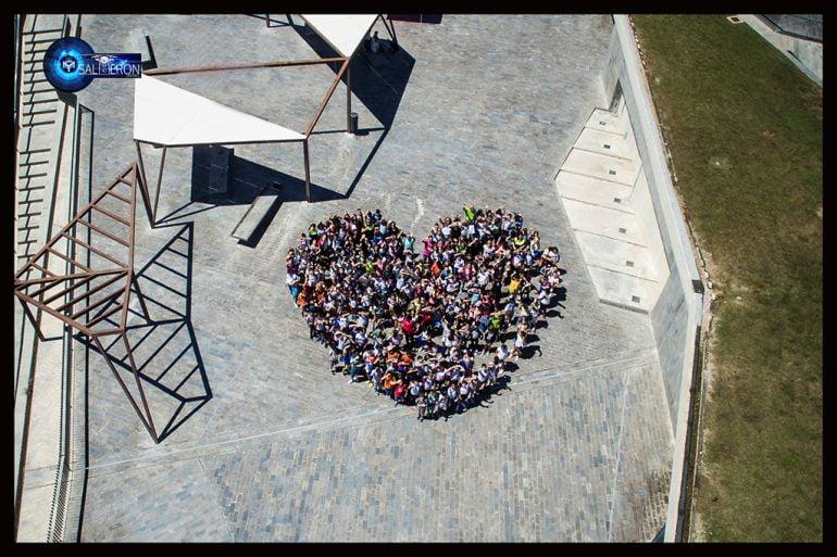 Imagen desde un dron de la Jornada Convivencia Xàbia Conviu