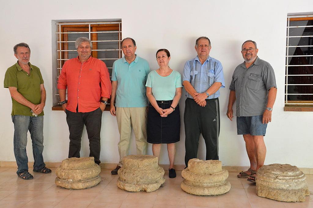 La familia Albi junto a Quico Moragues y Ximo Bolufer