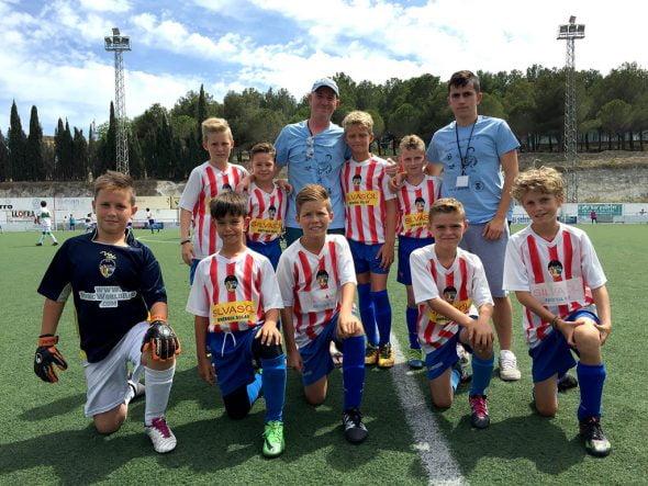 Los benjamines del CD Jávea ganan el X Torneo de Fútbol 8 de Benissa