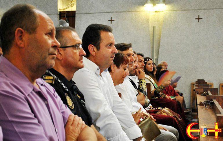 Misa solemne  en honor a San Jaime