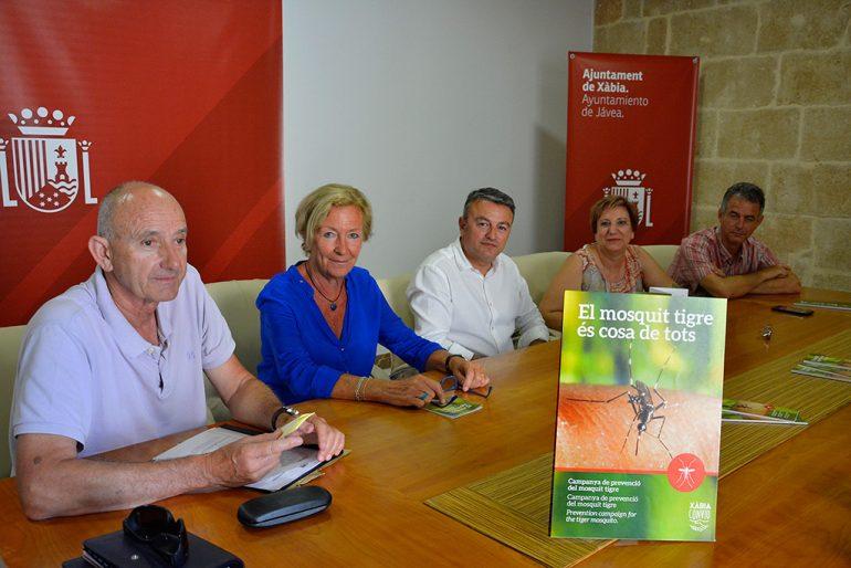 Presentación de la campaña contra el mosquito tigre