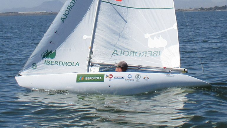 Rafa Andarias en el campeonato Iberdrola