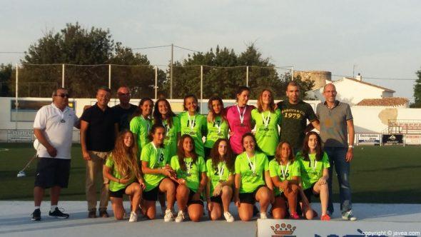 Reconocimiento a clubes y deportistas en Xàbia