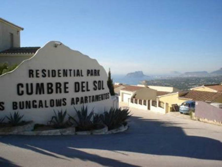 Residencial Cumbres del Sol en El Poble Nou de Benitatxell