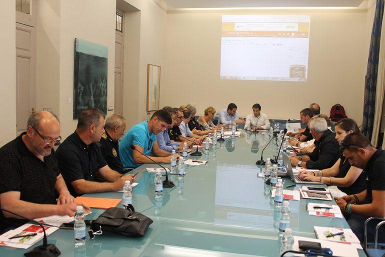 Reunión de coordinación de la Vuelta Ciclista en Alicante