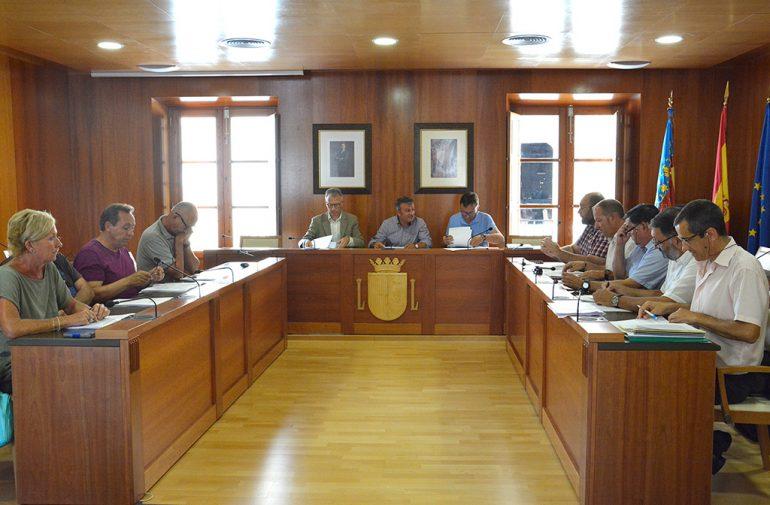 Reunión de pesca en el ayuntamiento de Xàbia
