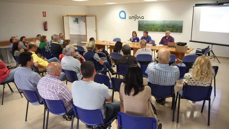 Reunión del Observatorio del Agua en Xábia