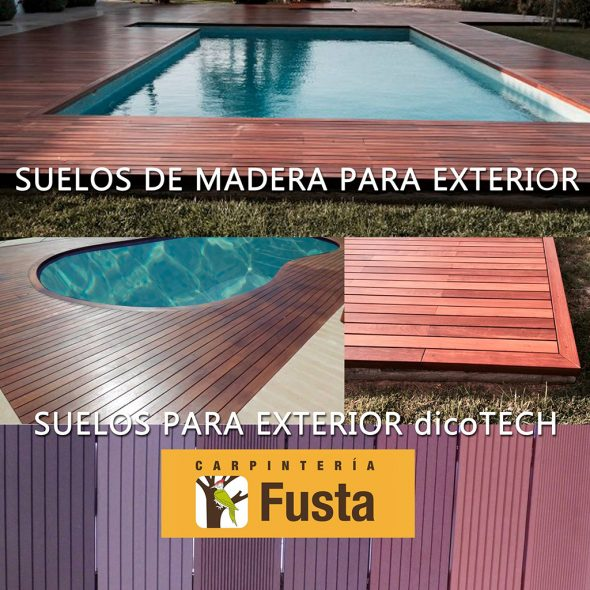 Los mejores suelos de madera para exterior est n en - Suelos madera exterior ...