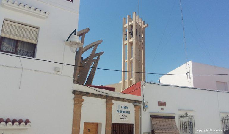 Actual Campanario de Nuestra Señora de Loreto