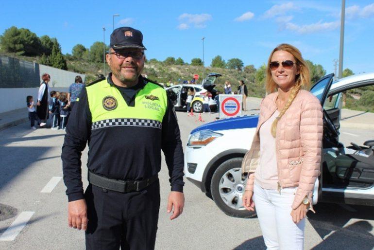 Agente de la policía local de Benitatxell