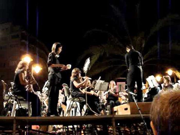 Banda de Xàbia en concierto