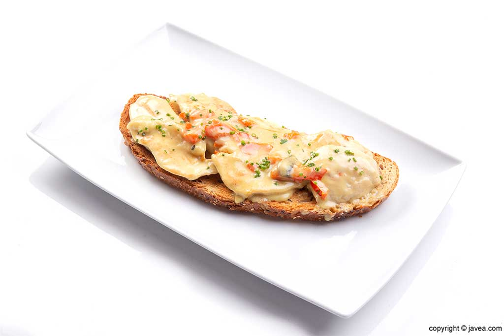 Bruschetta Restaurante Noray