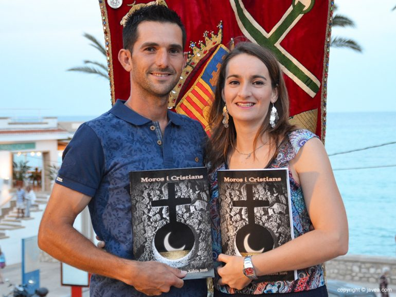 Capitanes Mª José Fernandez y José Manuel García