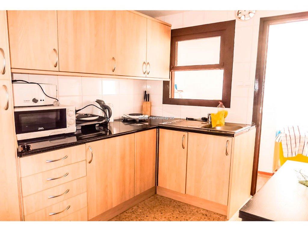 Cocina MarinaBay Homes