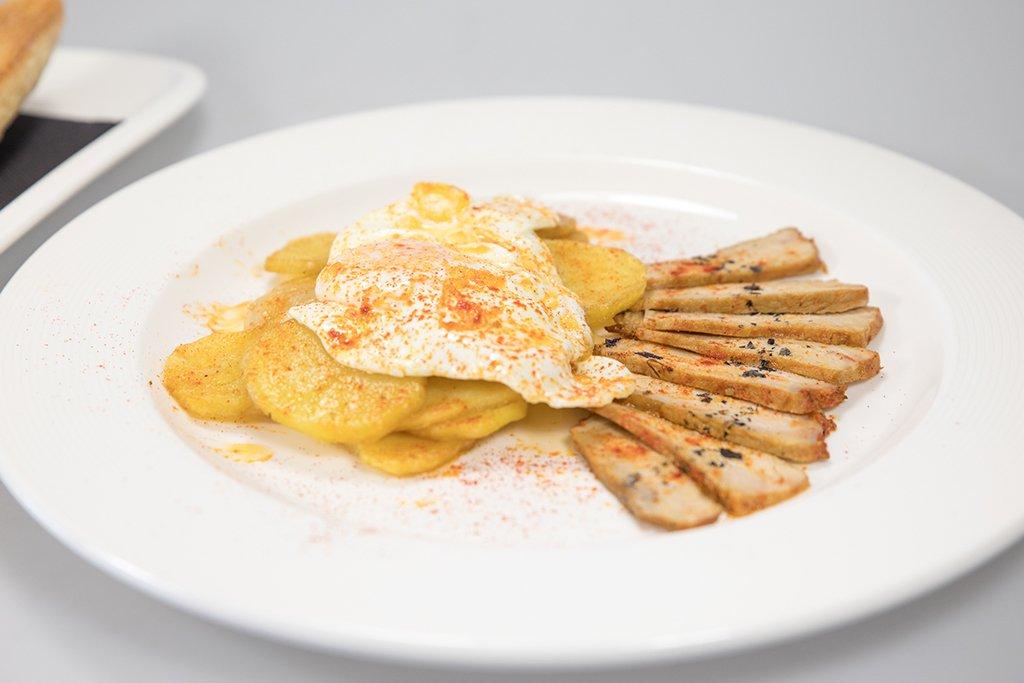 Desayuno rústico Restaurante Noray