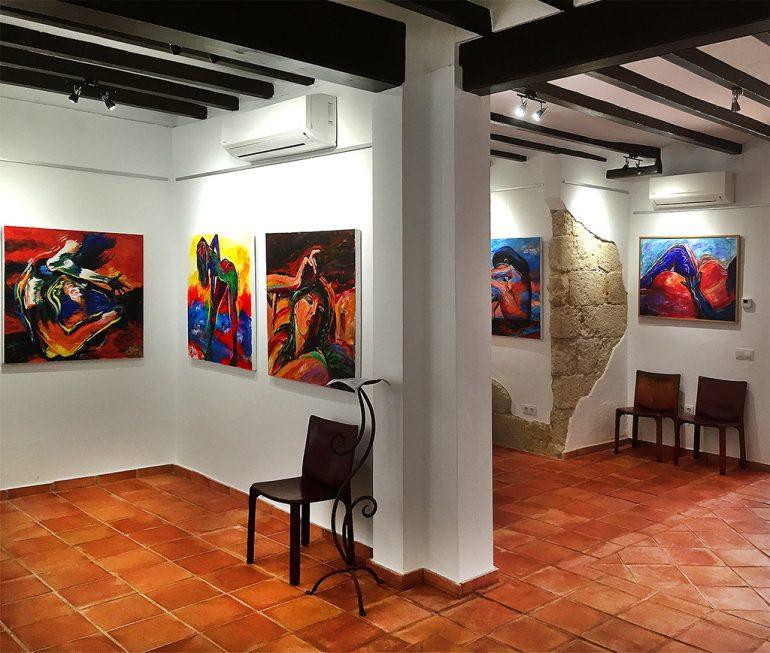 Obras de la exposición de Rod Davis
